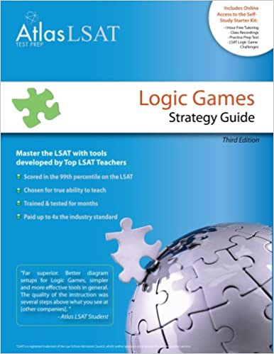 lsat logic games strategy guide pdf