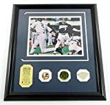 Derek Jeter Game Used Collection Photo Bat Coin Pin Highland Mint DF024956 - MLB Game Used Bats