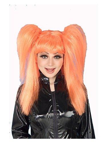 Forum Novelties Comic Cutie Wig,Orange,Standard ()