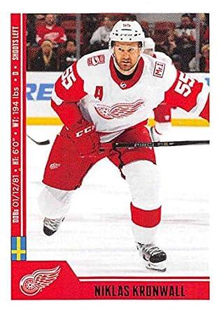 b07217cbeda 2018-19 Panini NHL Stickers  83 Niklas Kronwall Detroit Red Wings Hockey  Card