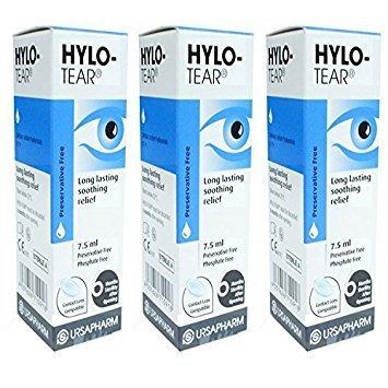 Hylo Tear Hylo-Tear Long Lasting Eye Drops X 3 Triple Pack