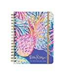 Lilly Pulitzer Large 2019 12-Month Annual Hardcover Planner with Daily, Weekly, Monthly Spreads for Jan. 2019 - Dec. 2019, 8.88' x 6.75', Gypset