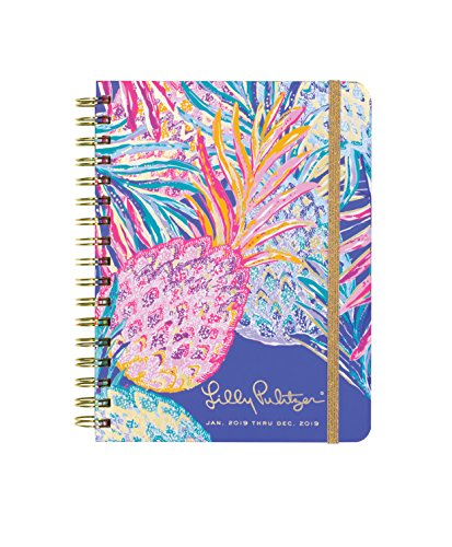 2019 12-Month Academic Hardcover Planner with Daily, Weekly, Monthly Spreads for Jan. 2019 – Dec. 2019, 8.88
