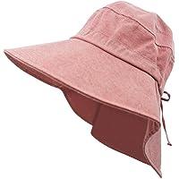 QPRER Sombreros Y Gorras para Mujer,Rosa Sombrero De