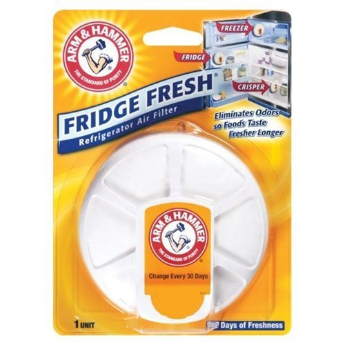 Price comparison product image Arm & Hammer Refrigerator Air Filter Unscented Carded