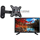 Supersonic SC-2411 24' LED 1080p 12 Volt AC/DC HDMI Widescreen HDTV + Wall Mount