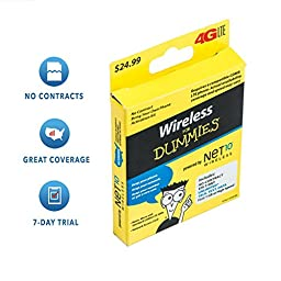 5-in-1 Prepaid SIM Card Activation Kit for AT&T or T-Mobile GSM Phones - Free 7 Days Unlimited Talk, Text & Data.
