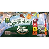 Poland Spring Sparkling Water Variety Pack - 16.9 oz - 24 ct