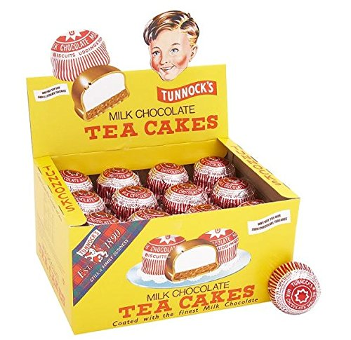 Tunnock's Milk Chocolate Tea Cakes 24G X 288 by Tunnock's