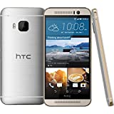 "HTC One M9+ Plus 32GB Gold on Silver, 5.2"", GSM Unlocked International Model, No Warranty"