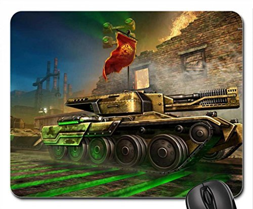 Tanki Online Game Mouse Pad  Mousepad  10 2 X 8 3 X 0 12 Inches
