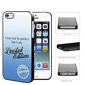 I Am Limited Edition Blue Hard Plastic Snap On Cell Phone Case Apple iPhone 5 5s