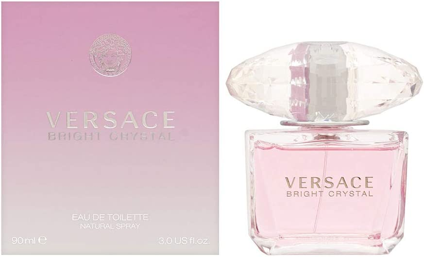 Versace Bright Crystal Agua de Colonia - 90 ml: Amazon.es