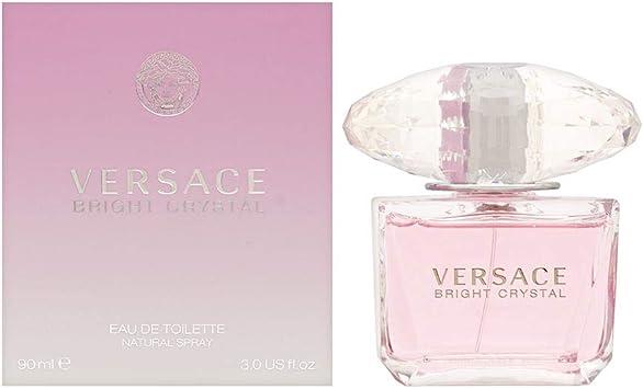 Versace Bright Crystal Agua de Colonia - 90 ml: Amazon.es