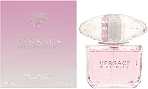Versace Bright Crystal Eau de Toilette For Women, 90 ml