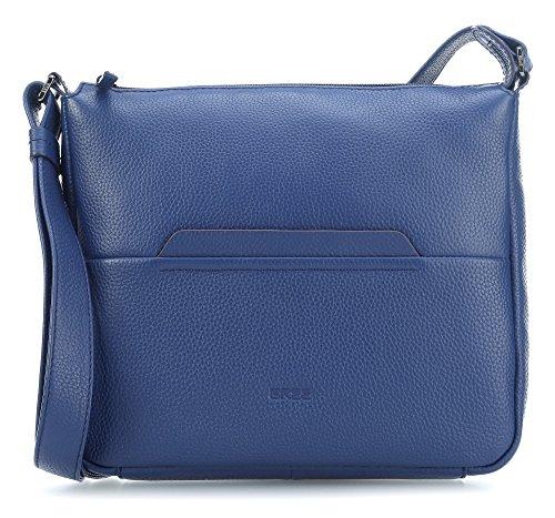 BREE - Faro 2, Blueprint, Cross Shoulder M S18, Bolsos bandolera Mujer, Blau (Bleu), 9x30x29 cm (B x H T)