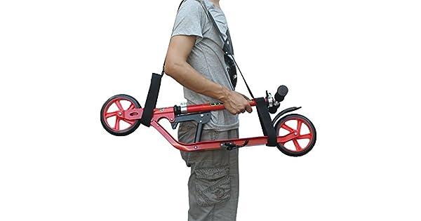 Amazon.com: yyst Kick Scooter patinete de correa de hombro ...