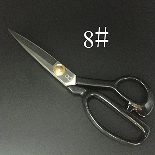 Jiansy Professional Sewing Scissors Tailor Scissors For Needlework Fabric Cutting Exquisite Steel Dressmaker Small and Large by Jiansy (Image #4)