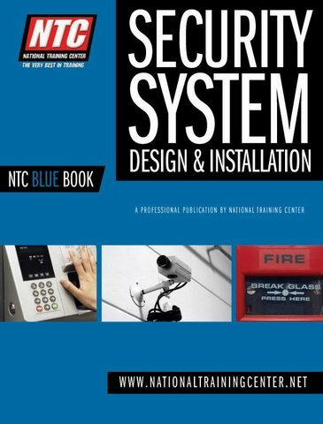 NTC Blue Book Low Voltage Systems Design & Installation ebook