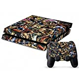 Mod Freakz Console and Controller Vinyl Skin Set - Street Fighter Characters for Playstation 4