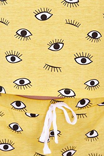 tuta cappuccio Yellow Eye Loungeable morbido Unicorn Donna Boutique Set Pj vestaglia o q0wtTUt
