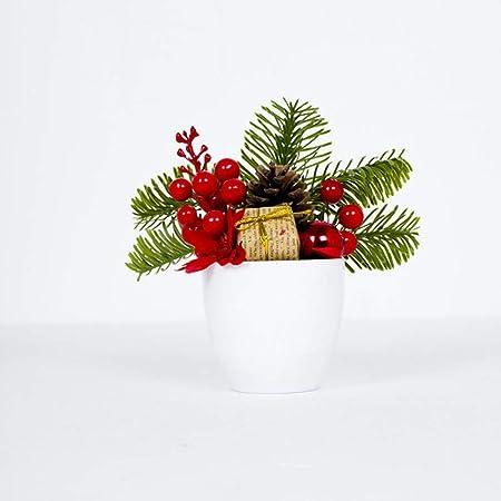 Handfly Decoración de Navidad para Mesa de bonsái, decoración de ...