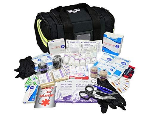 Lightning X Value Compact Medic First Responder EMS/EMT Stocked Trauma Bag w/Basic Fill Kit A - ()