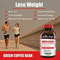 Amazon Com Pure Green Coffee Bean Extract For Weight Loss Pills Dietary Supplement To Burn Fat Curb Appetite And