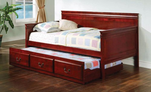Coaster Elaine Cherry Daybed Trundle