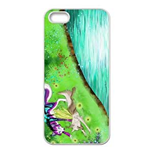 Custom Wolf Fairy Story Back Cover Case for iphone5,5S JN5S-574