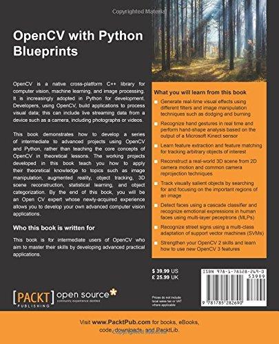 OpenCV with Python Blueprints: Michael Beyeler