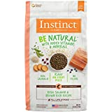 Instinct Be Natural Real Salmon & Brown Rice Recipe Natural Dry Dog Food by Nature's Variety, 4.5 lb. Bag