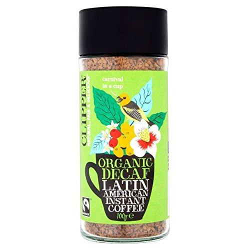 Clipper Latin American Decaf Fairtrade Organic Coffee - 100g (Best Organic Coffee Uk)
