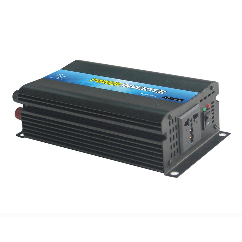 NIMTEK MS500 Pure Sine Wave Off-grid Inverter, Solar Inverter 500 Watt 12 Volt DC To 220 Volt AC