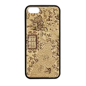 diy zhengHarry Potter Marauder's Map Case for Ipod Touch 4 4th case