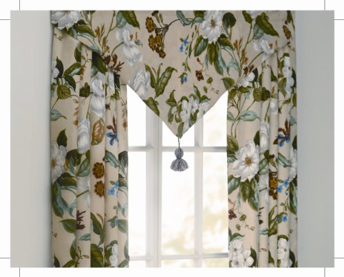 Williamsburg Garden Images Lined Drapery Panel Pair ()