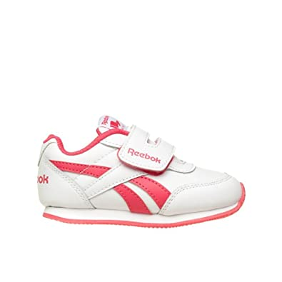 e0f0752fa00 Reebok - Sportswear - Royal Classic Jogger 2.0 KC - White - 7.5   Amazon.co.uk  Shoes   Bags