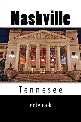 Nashville: 150 page lined notebook for sale  Delivered anywhere in USA