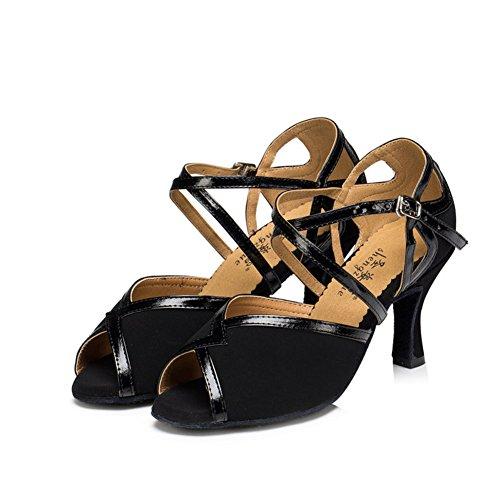 Ballo Alti Scarpe da S Pattini Latino Tacchi C da Scarpe Morbido di GUOSHIJITUAN Ballo Donna Fondo Dancing Salsa ISHpS0