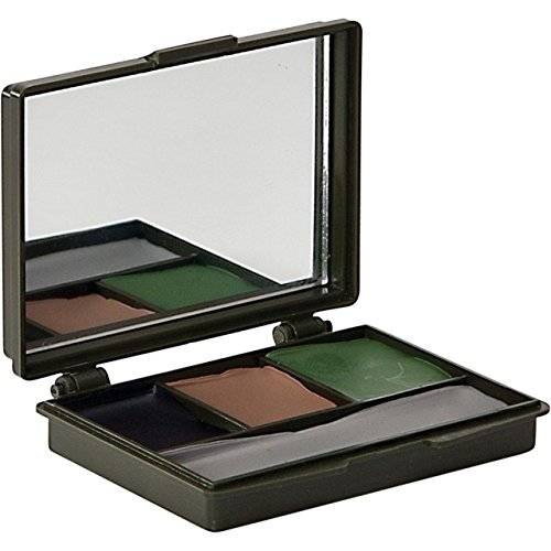 Allen Four Color Camo Face Paint Set, Black, Brown, Olive Colors