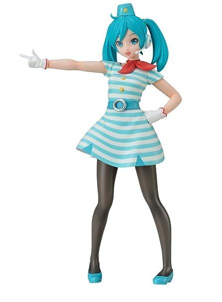 Hatsune Miku Christmas Outfit.Sega Project Diva Arcade Future Tone Hatsune Miku Super Premium Action Figure Ca 9