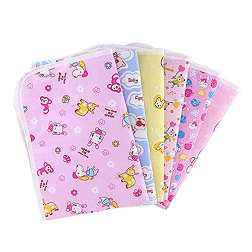 Reusable Baby Infant Diaper Urine Mat Waterproof Sheet Bedding Changing Pad Play Stroller Crib Car Mattress Pad Cover size 6453