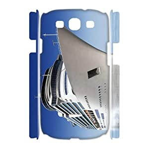 Samsung Galaxy S3 I9300 Ship 3D Art Print Design Phone Back Case Customized Hard Shell Protection LK085322