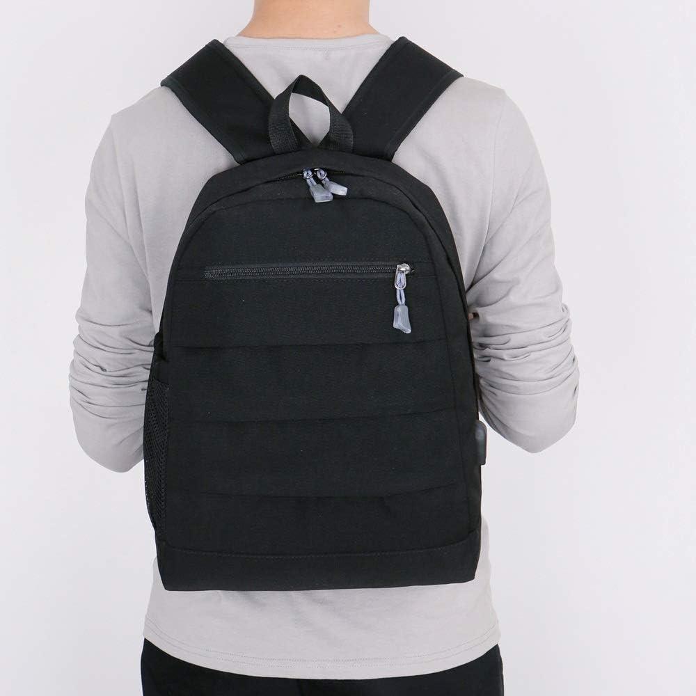HDHUA Laptop Bag Simple Business Casual Shoulder Bag Backpack Travel Bag Men