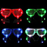 M.best Light Up Glow Glasses, 12 Pack Glow in The