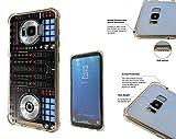 001061 Cool Fun Dj Mixer Turntable Vintage Retro Music Dance Clubber RnB Hip Hop Rave Club Samsung Galaxy S8 Corner Airbag Shockproof Case All Edges Protection Gel&Hard plastic Defender Slim Cover