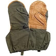 Military Outdoor Clothing Never Issued Olive Drab Mitten Shells with Liner