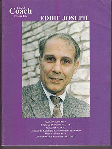 2003 Texas Coach Magazine October Eddie Joseph 19256