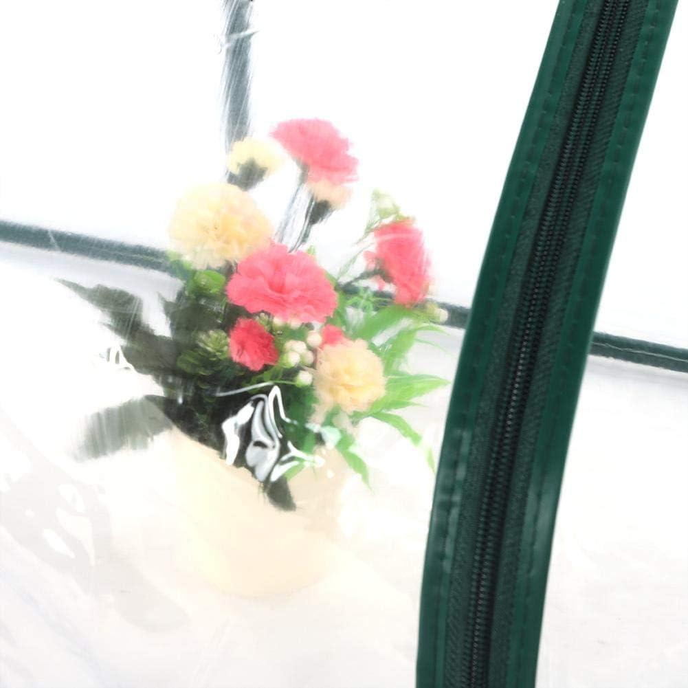 Copertura Ombrello Serra Mini Serra per Piccole Piante da Giardinaggio Fragola Mini Tenda Ombrello Serra Trasparente Tenda Copertura Ombrello