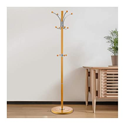 Ye Metal Coat Rack Free Standing Garage Foyer Office Closet Coat Tree For  Clothes Bags Scarves